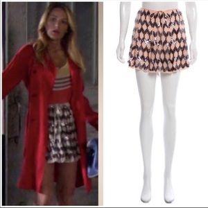 "Elizabeth & James ""Edith"" Sequin mini Skirt M"
